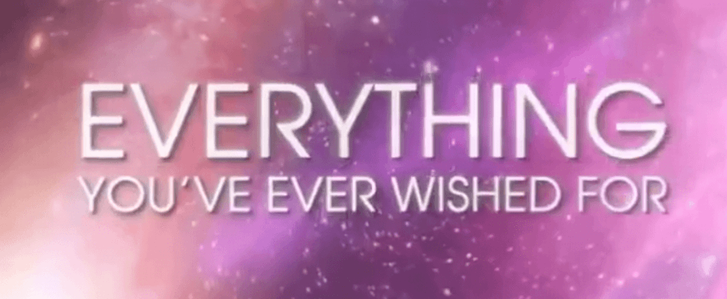 everything you've ever wished for