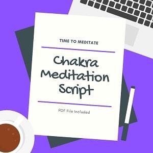 chakra meditation script