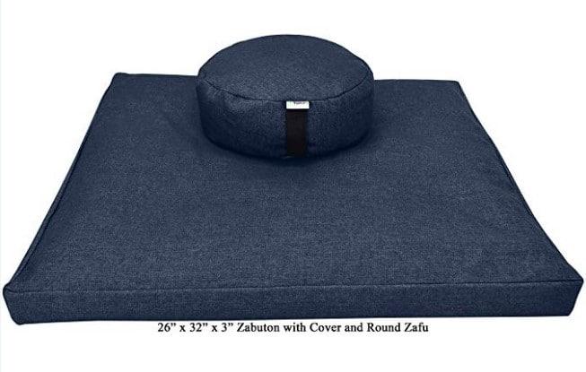 bean products meditation cushion set 6