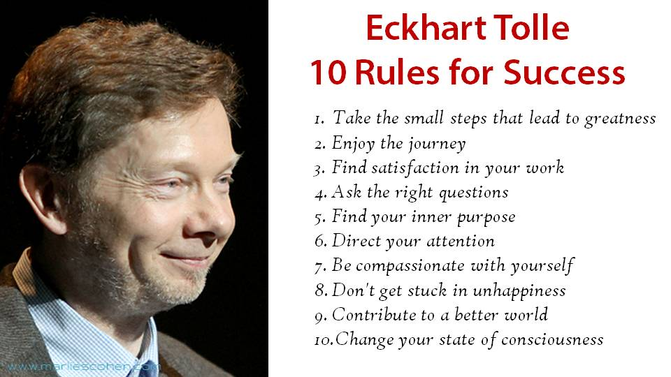 Eckhart Tolle on Enlightenment [Amazing Video Included] | UnifyCosmos.com
