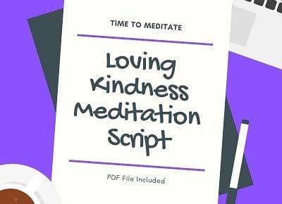 guided loving kindness meditation script