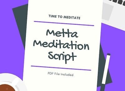 guided metta meditation script