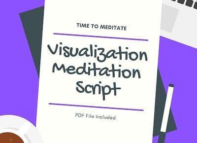 guided visualization meditation script