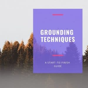 a list of grounding techniques