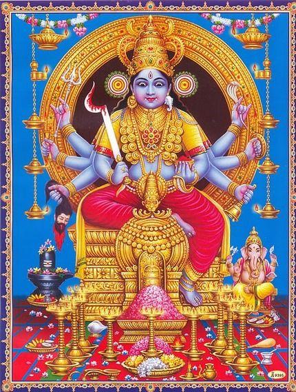 bhadrakali devi - Bhadrakali Mantra article