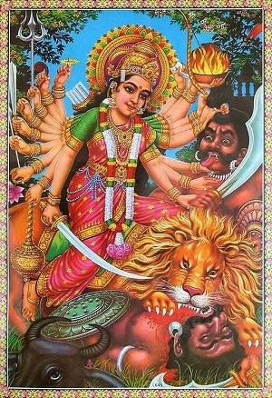goddess chamunda mantra