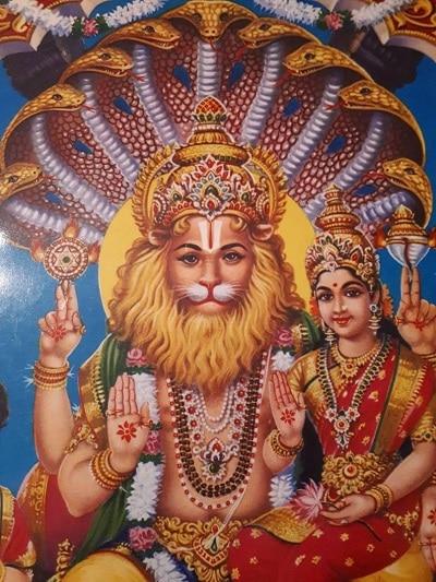 God Narashimha - Narashimha Mantra Article