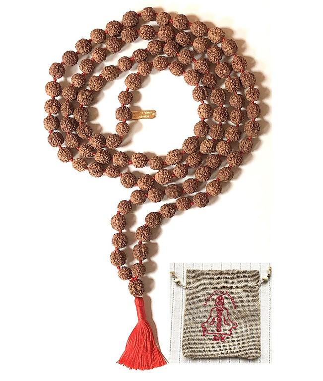 rudrakash japa mala beads