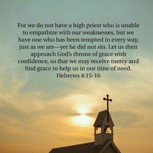 hebrews 4 15-16