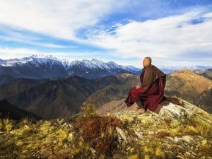 himalayan buddhist monk