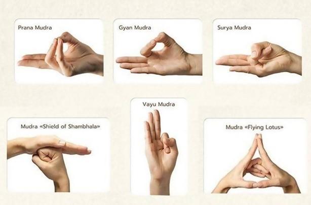 cosmic mudra hand positions