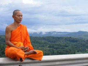 vipassana sitting position example
