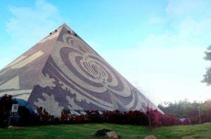 Pyramid Yoga Center in Thailand
