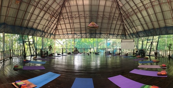 Pyramid Yoga Center in Thailand