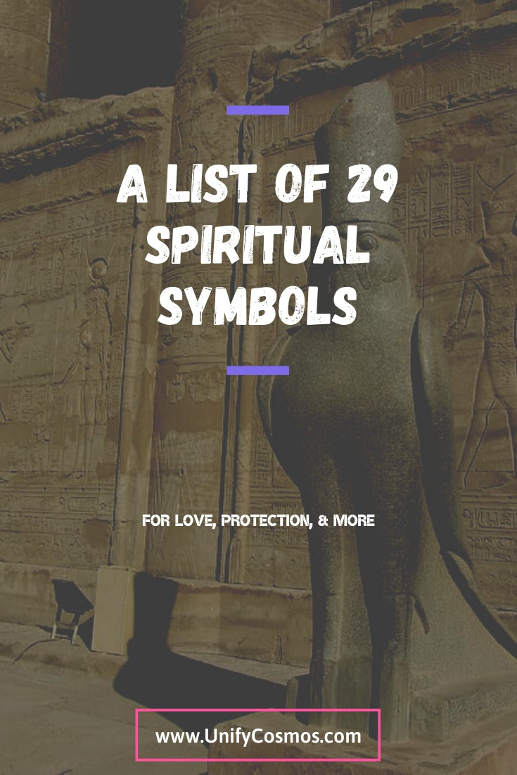 A List of 29 Spiritual Symbols by Unify Cosmos
