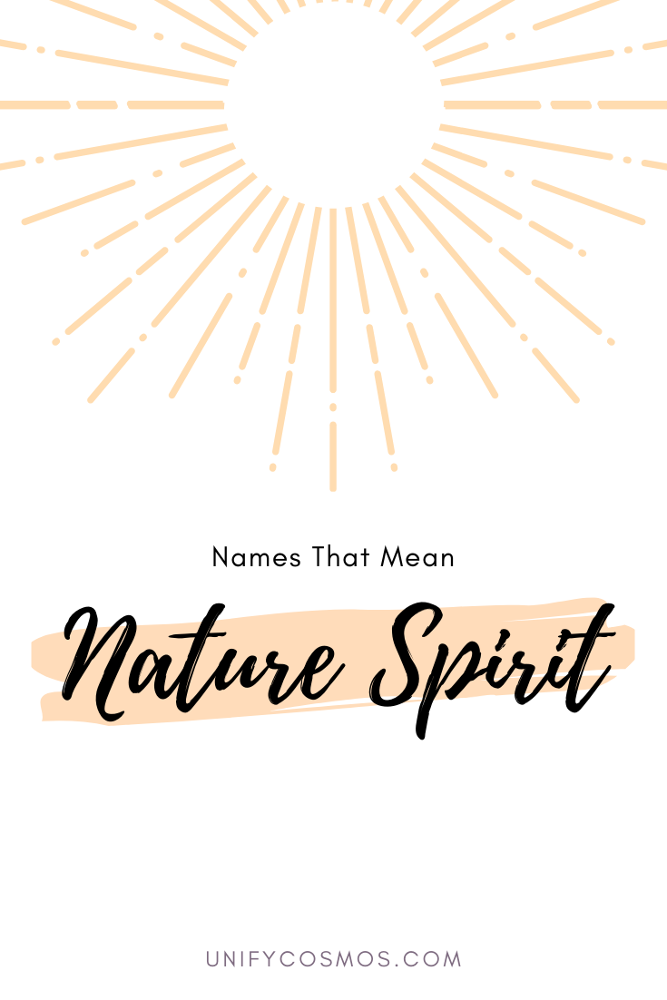 Names That Mean Nature Sprit by MagickalSpot