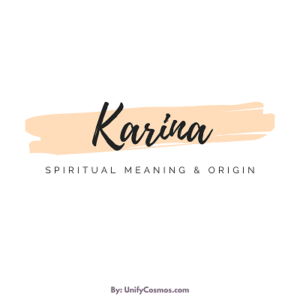 Spiritual Meaning of the Name Karina featured