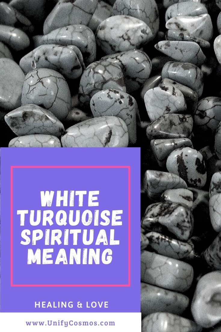White Turquoise Spiritual Meaning by Unify Cosmos
